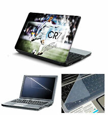 """Laptop Skin CR7 with Screen Guard and Key Board Protector (3in1 Combo)15.6"""""""