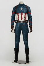HOT Free Shipping Captain America 3 Civil War Steven Cosplay Costumes Customize