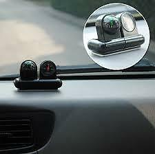 Car Boat Compass Thermometer Ball Hot New Compass  car guide the ball[ 2in 1 ]