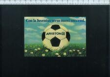 ADESIVO A12 ARISTON CON LA JUVENTUS VERSO NUOVI SUCCESSI - MISURE 11,8 X 7,7 CM