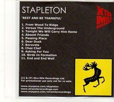 (EU229) Stapleton, Rest And Be Thankful - DJ CD
