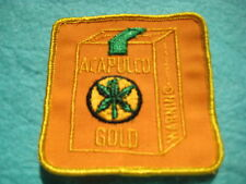 "Vintage Acapulco Gold Patch 3 1/8 "" X 3 1/8"""
