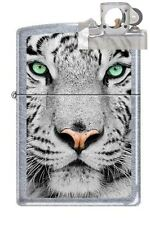 Zippo 0245 white tiger face Lighter with PIPE INSERT PL
