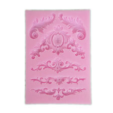 1 Pc Flower Lace Mat Mould Sugar Craft Silicone Cake Cup Cake Decorating NIUK