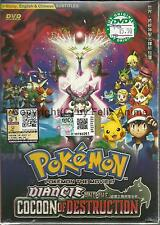 POKEMON THE MOVIE 17:DIANCIE AND THE COCOON OF DESTRUCTION- DVD BOX SET(ENG DUB)