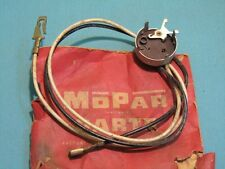 NOS Mopar 1958 Plymouth Back Up Switch & Cable, 1841711