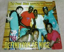 DJ Paul Nice Definition Of Nice 12 Inch Single Record AC Babu Gennesse 1999 Bomb