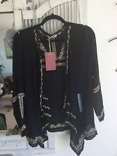 Bnwt Embroidered Pull&Bear Jacket Size L Langenlook