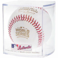 Rawlings Official 2016 MLB World Series Baseball Major League Game Ball in cube