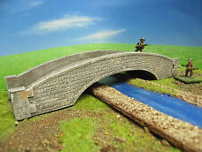 STONE BRIDGE - SINGLE ARCH 15/09 - 15MM WARGAMING TERRAIN PAINTED FLAMES OF WAR