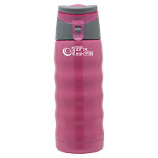 Pioneer Vacuum Sports Jelly Drinks Hydration Flask, 0.35L, Pink