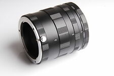 Macro Extension Tube 3 Ring Set for Canon EOS EF EF-S mount DSLR SLR 5D 7D New