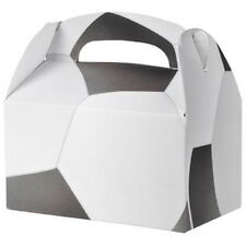 24 SOCCER  PARTY TREAT BOXES FAVORS GOODY BAG  PRIZE GIFT BASKET CARNIVAL