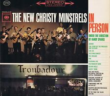 THE NEW CHRISTY MINSTRELS IN PERSON Columbia LP 33 Folk Album VG+1963 Stereo