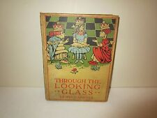 1897 THROUGH THE LOOKING GLASS AND WHAT ALICE FOUND THERE BY LEWIS CARROLL
