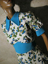 CHIC VINTAGE ROBE POP 1970 VTG DRESS 70s KLEID 70er ABITO ANNI 70 RETRO (38)