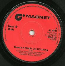 GUYS & DOLLS - THERE'S A WHOLE LOT OF LOVING - 70s POP VOCAL 1974
