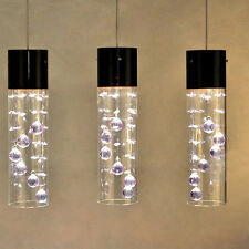Modern Glass Shade Crystal Ceiling Light Pendant Lamp 1 x Lighting Chandelier 26