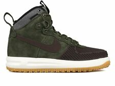 Nike Lunar Air Force 1 Duckboot Olive Green Size 8. 805899-200 Jordan Wheat mid