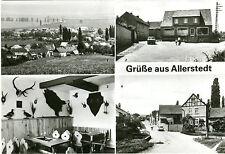 AK Allerstedt Wohlmirstedt Kr. Nebra 4 Ansichten Konsum Gaststätte Linde A_243