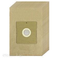 10 SACCHETTI ASPIRAPOLVERE filtrata sacchi di carta per DELONGHI HOOVER Sacchetto