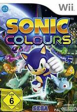 Nintendo Wii SONIC COLOURS Deutsch OVP BRANDNEU