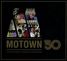 MOTOWN 50 YESTERDAY TODAY FOREVER! 3-CD BOX SET! BEST GREATEST HITS COLLECTION!