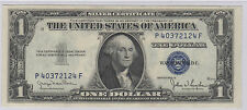 Series 1935 D $1 One Dollar Silver Certificate Wide Note High SN P40372124F