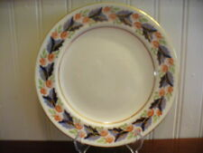 """Royal Crown Derby England Bone China Handpainted Floral Motif 8.25"""" Buffet Plate"""