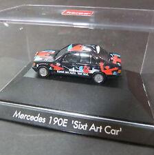 Mercedes 190 E Sixt Art Car .. Herpa . 1:87 HO #1021