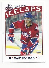 2015-16 St. John's IceCaps (AHL) Mark Barberio (Colorado Avalanche)