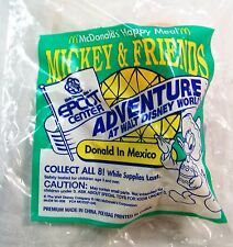 1993 McDonald's Happy Meal Epcott Mickey & Friends Donald in Mexico MIP C10!