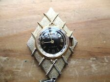 vintage buler watch pendant for spares,,missing stem crown,,,untested