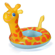 Swimming Ring Giraffe Ring Baby Kids Child Inflatable Pool Raft Chair Seat Float