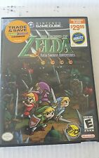 The Legend of Zelda: Four Swords Adventures (for Gamecube) BOX and Manual ONLY