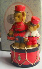 """Cherished teddies """"marchin 'to the beat of holiday fun"""""""