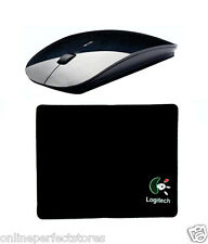Combo Mouse Pad + Wireless Mouse Slim Sleek 2.4 GHz with Nano Adapter