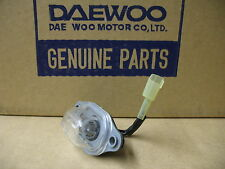 NEW GENUINE DAEWOO NEXIA REAR NUMBER PLATE LAMP GM 96179912+BULB