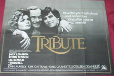 Cinema Poster: TRIBUTE 1980 (Quad) Jack Lemmon