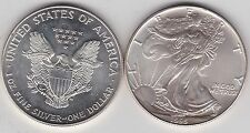 USA 1 Oncia Eagle 1995 ARGENTO DOLLARO in NEAR MINT CONDITION