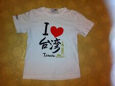 Taipei 101 I Heart Love Taiwan White T-shirt Shirt Unique Lover Taiwanese Cool