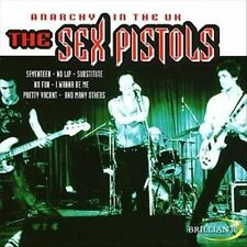 SEX PISTOLS ~ Anarchy In The UK CD [IMPORT] LIVE 1976!!