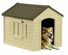 Dog Houses For Medium Or Large Dogs Includes Door And Crowned Floor Safe