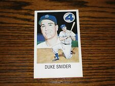 DUKE SNIDER - Postcard!! New Unused!  Dodgers