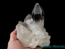 RECORD KEEPER'S___HUGE CLEAR Dalnegorsk , RUSSIA LEMURIAN QUARTZ CRYSTAL CLUSTER