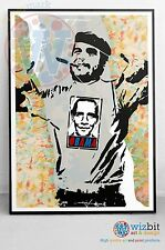 Obama / Che Guevara Graffiti Street Art Poster - High Quality Print