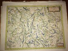 Carte Ancienne Du NIVERNAIS Par BLAEU 1642