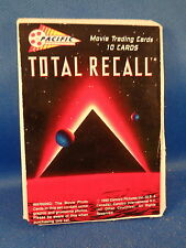 TOTAL RECALL - TEST PACK (10) NON SPORT TRADING CARDS - 1990 PACIFIC *LQQK*