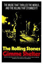 """THE ROLLING STONES: GIMME SHELTER Poster [Licensed-NEW-USA] 27x40"""" Theater Size"""