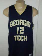 RUSSELL ATHLETIC GEORGIA TECH YELLOW JACKET #12 NCAA BASKETBALL JERSEY MEN L